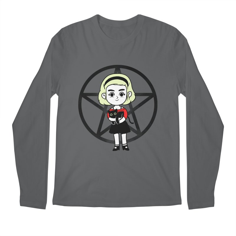 Sabrina and Salem Men's Longsleeve T-Shirt by Pepe Rodríguez