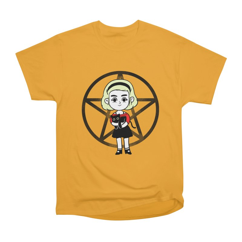 Sabrina and Salem Men's Heavyweight T-Shirt by Pepe Rodríguez