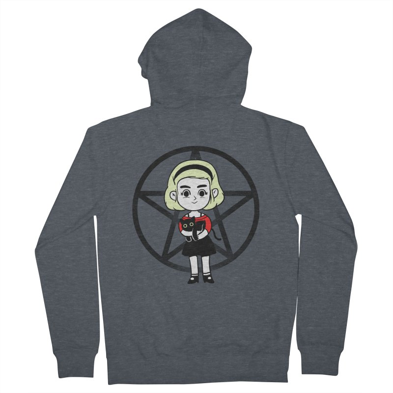 Sabrina and Salem Men's French Terry Zip-Up Hoody by Pepe Rodríguez