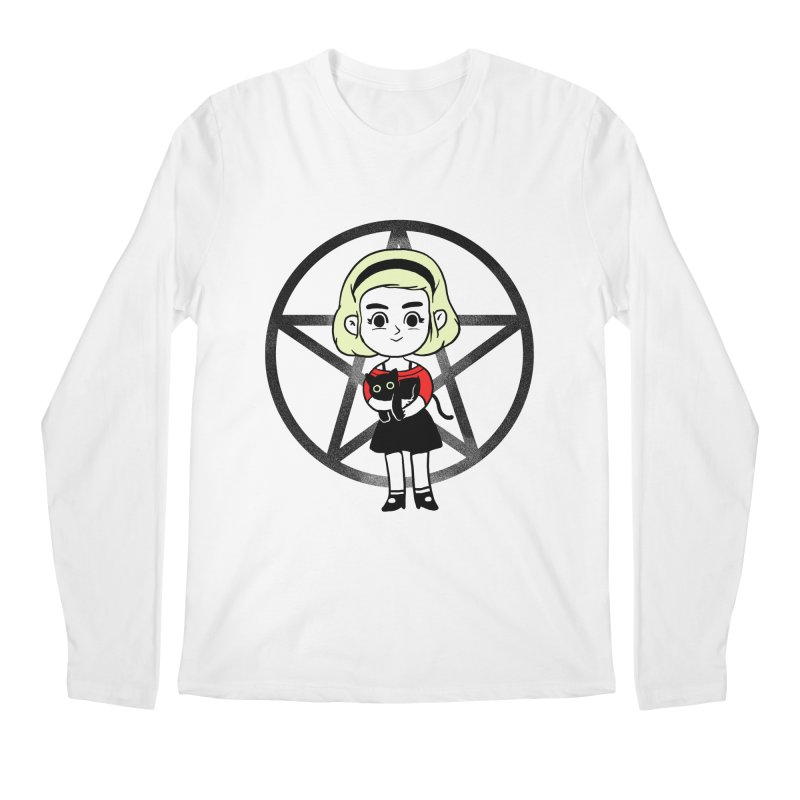 Sabrina and Salem Men's Regular Longsleeve T-Shirt by Pepe Rodríguez