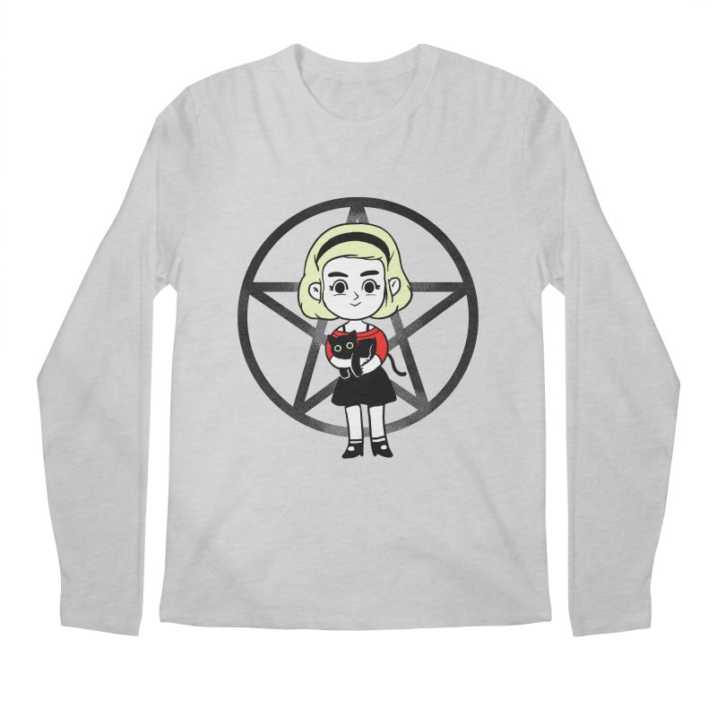 Sabrina and Salem Men's Regular Longsleeve T-Shirt by Pepe Rodríguez