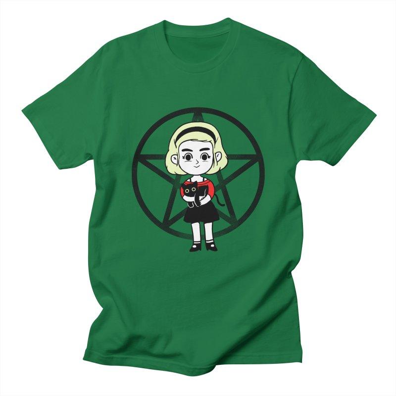 Sabrina and Salem Women's Regular Unisex T-Shirt by Pepe Rodríguez