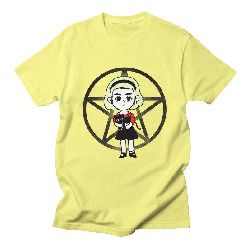 Sabrina and Salem Men's Regular T-Shirt by Pepe Rodríguez
