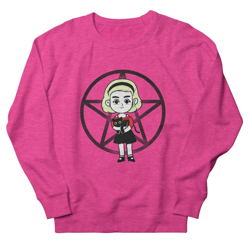 Sabrina and Salem Men's French Terry Sweatshirt by Pepe Rodríguez