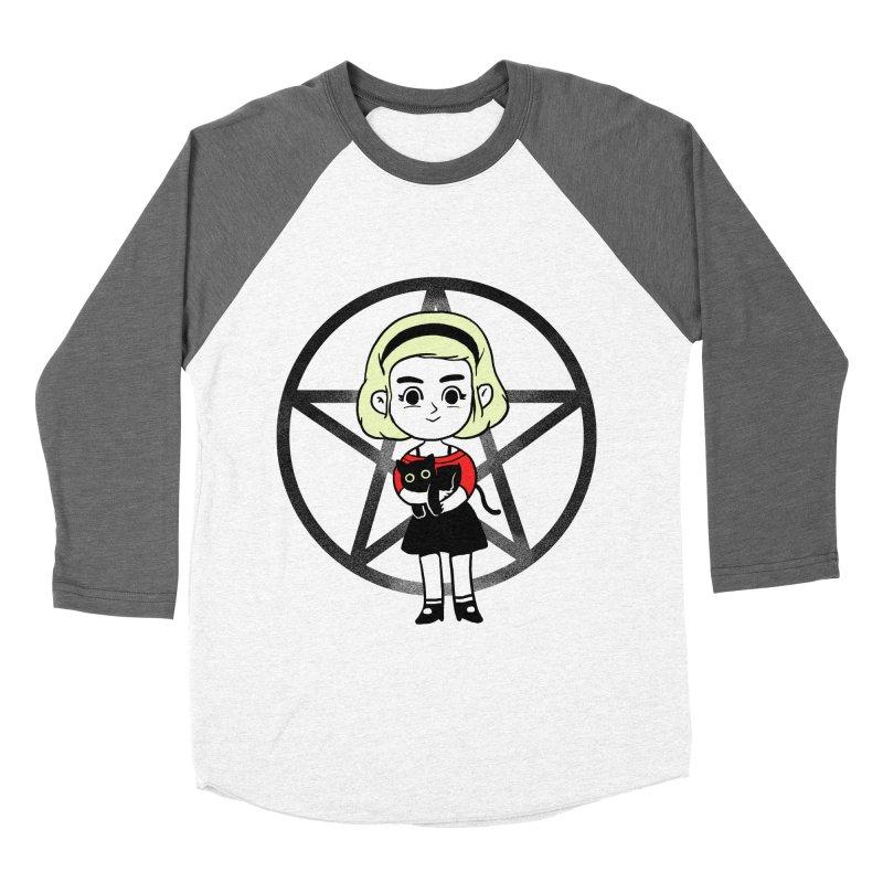 Sabrina and Salem Women's Baseball Triblend Longsleeve T-Shirt by Pepe Rodríguez