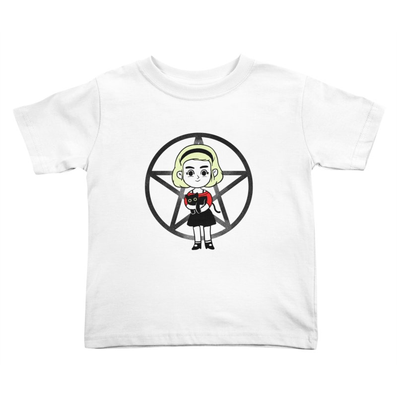 Sabrina and Salem Kids Toddler T-Shirt by Pepe Rodríguez