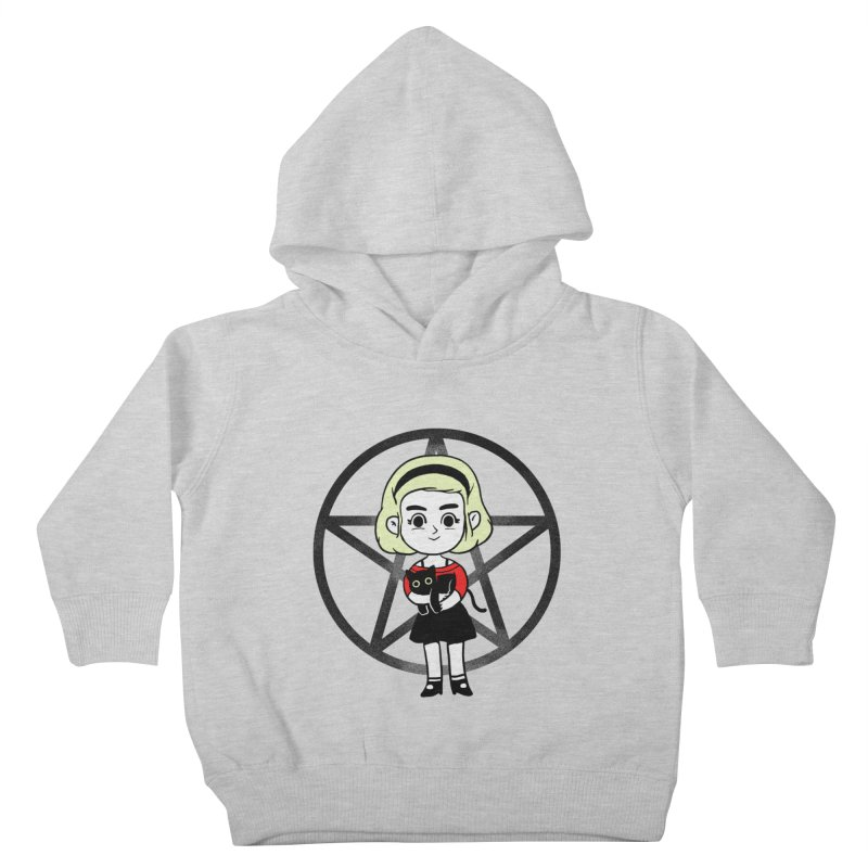 Sabrina and Salem Kids Toddler Pullover Hoody by Pepe Rodríguez