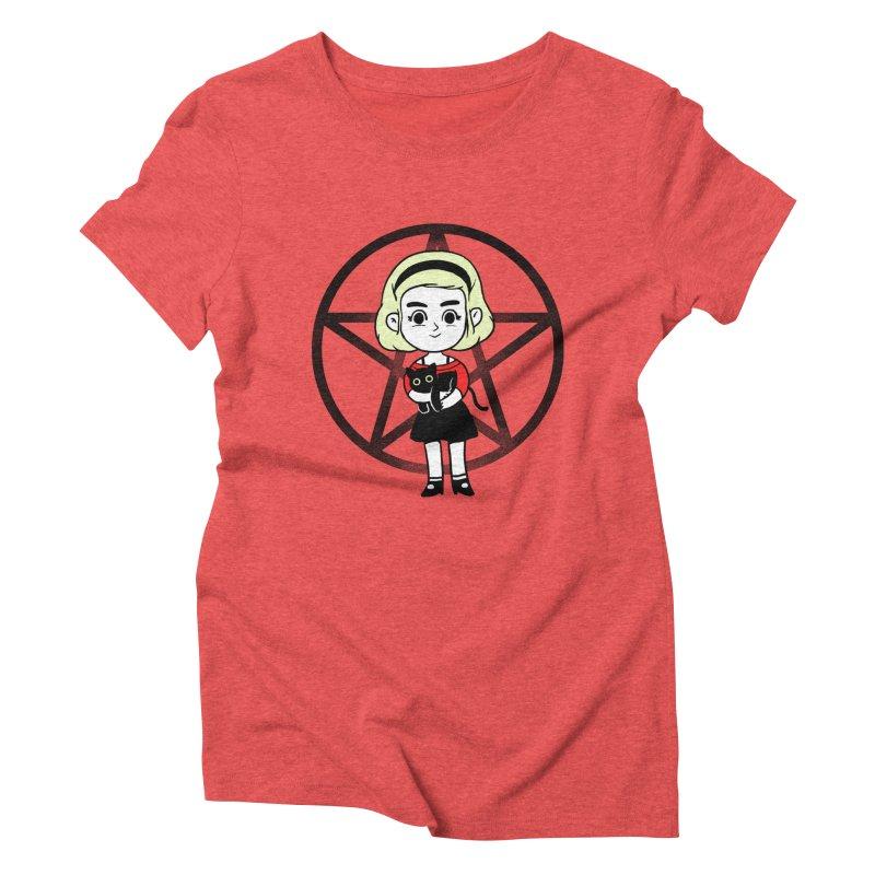 Sabrina and Salem Women's T-Shirt by Pepe Rodríguez
