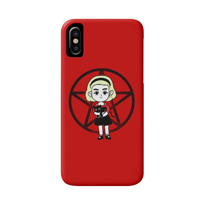 Sabrina and Salem Accessories Phone Case by Pepe Rodríguez