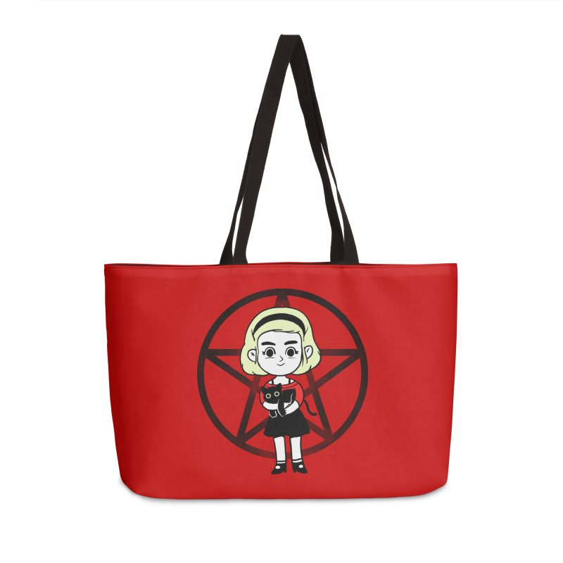 Sabrina and Salem Accessories Weekender Bag Bag by Pepe Rodríguez