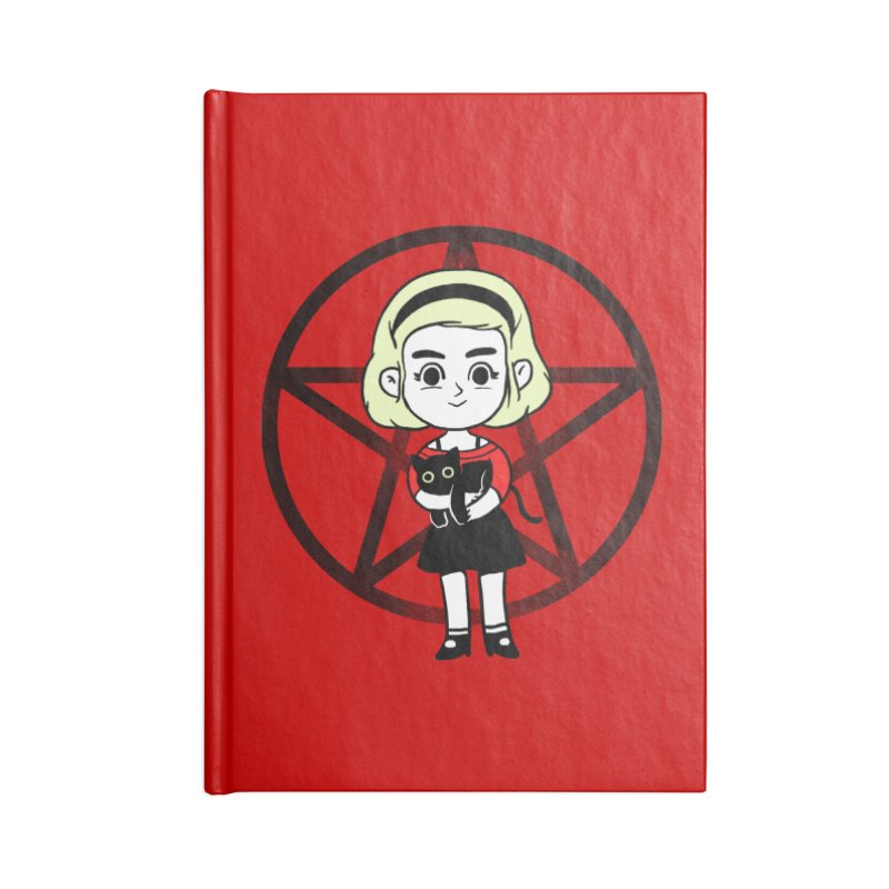 Sabrina and Salem Accessories Blank Journal Notebook by Pepe Rodríguez