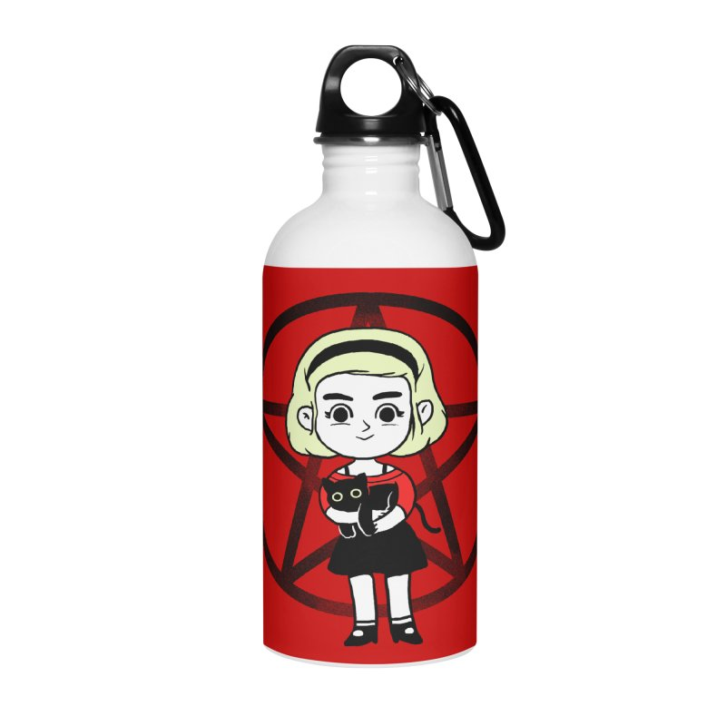 Sabrina and Salem Accessories Water Bottle by Pepe Rodríguez