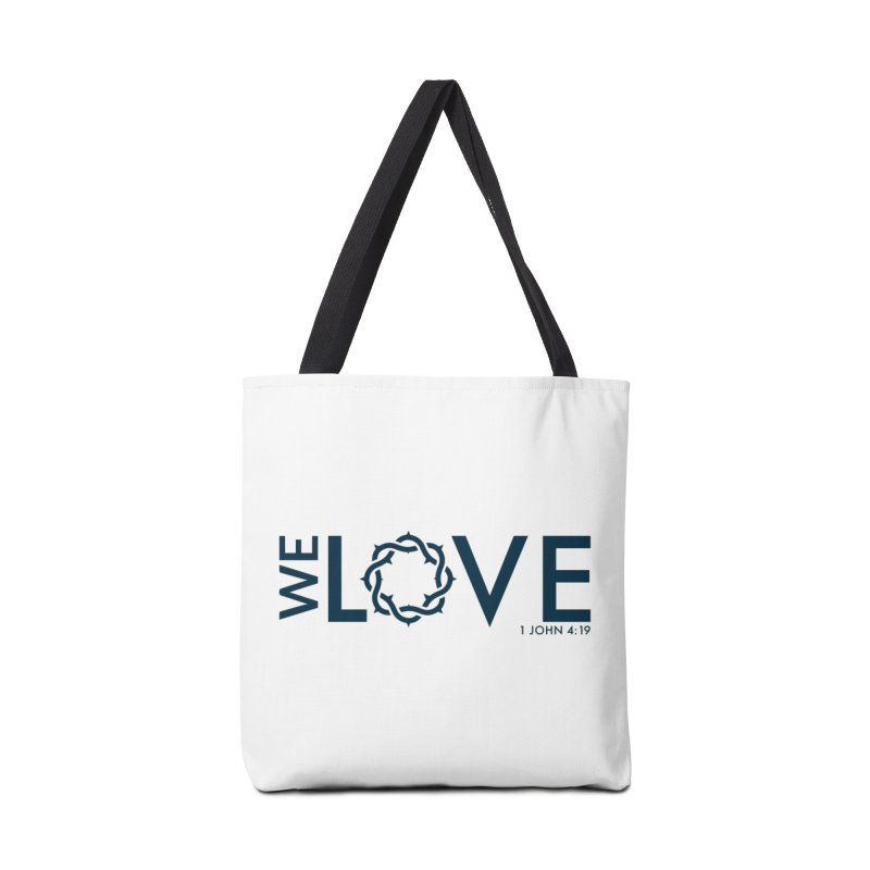We Love Accessories Bag by Justin Whitcomb's Artist Shop