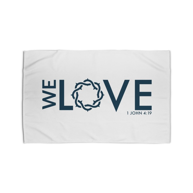 We Love Home Rug by Justin Whitcomb's Artist Shop