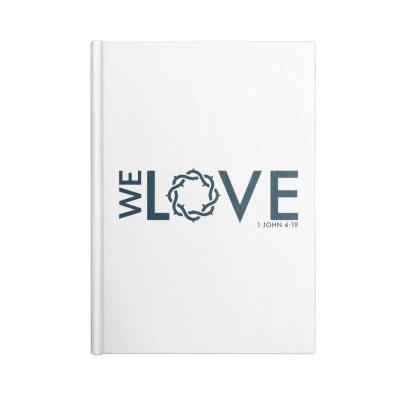We Love Accessories Blank Journal Notebook by Justin Whitcomb's Artist Shop