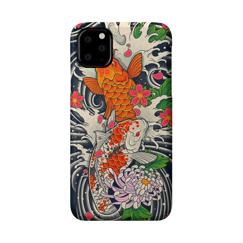 Fish Pond Accessories Phone Case by prajoedi's Artist Shop