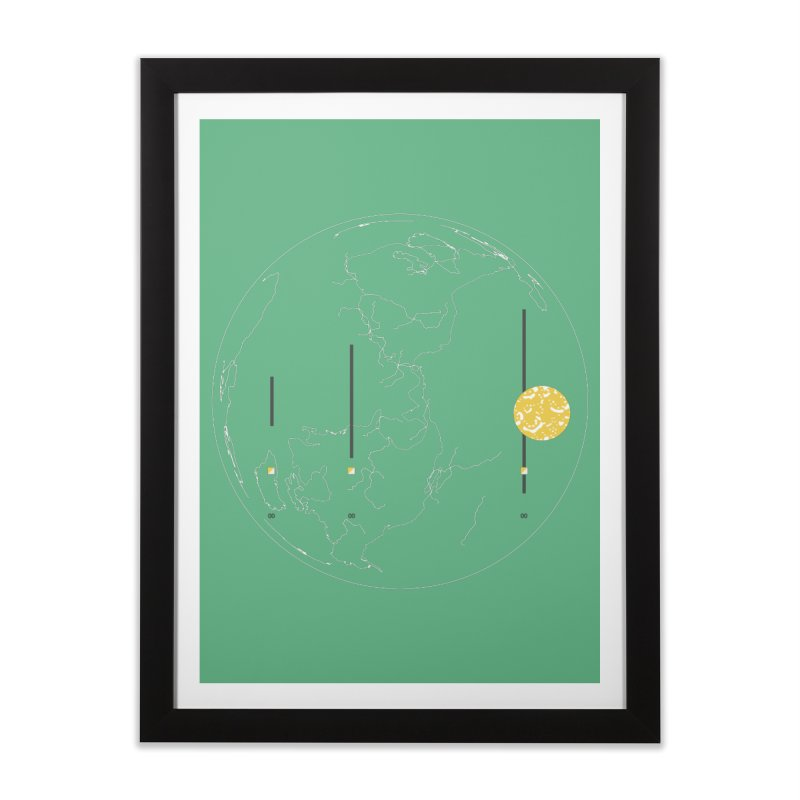 March 2016 No. 2 Home Framed Fine Art Print by Prate