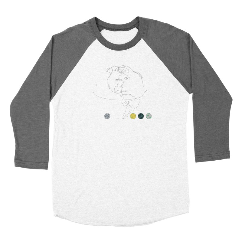 March 2016 No. 3 Men's Baseball Triblend Longsleeve T-Shirt by Prate