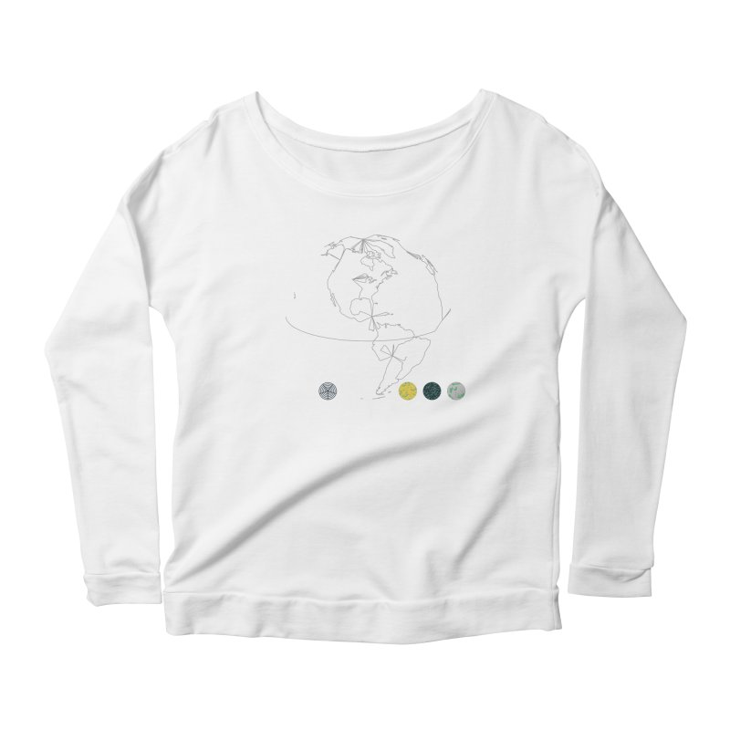 March 2016 No. 3 Women's Scoop Neck Longsleeve T-Shirt by Prate
