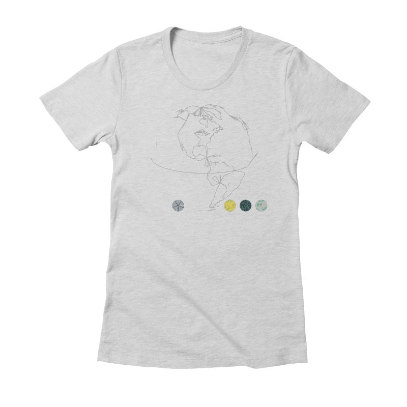 March 2016 No. 3 Women's Fitted T-Shirt by Prate
