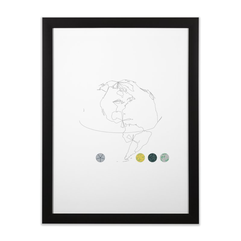 March 2016 No. 3 Home Framed Fine Art Print by Prate