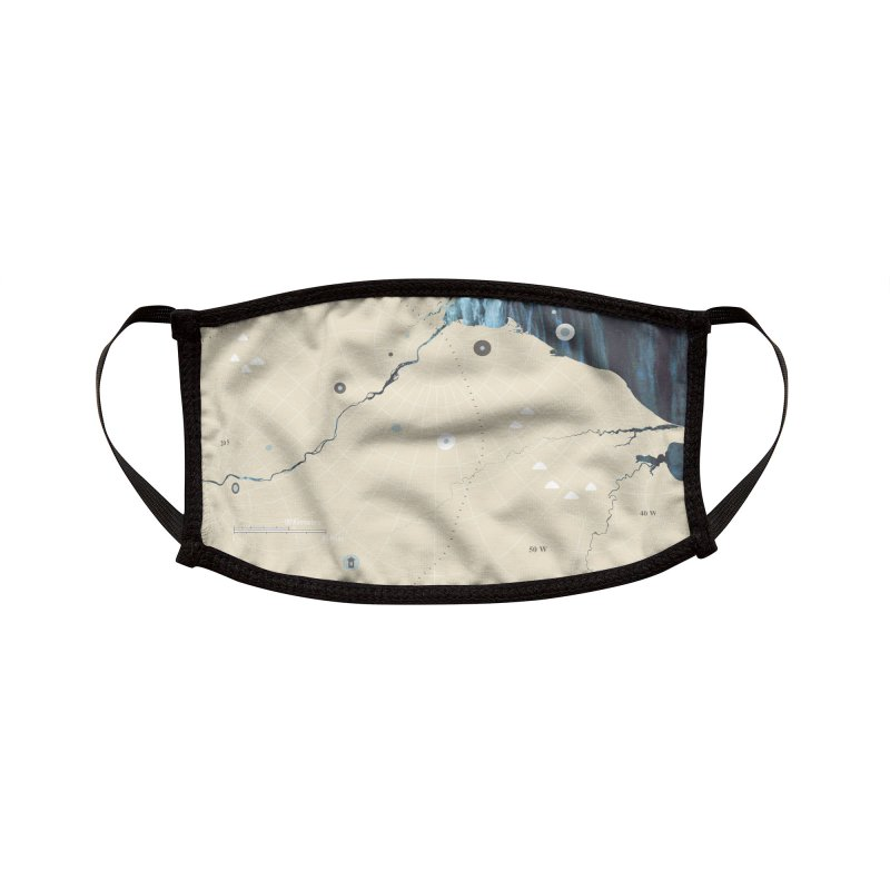 You Are Here Accessories Face Mask by Prate