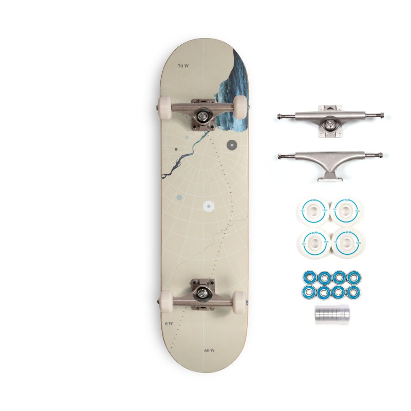 You Are Here Accessories Skateboard by Prate