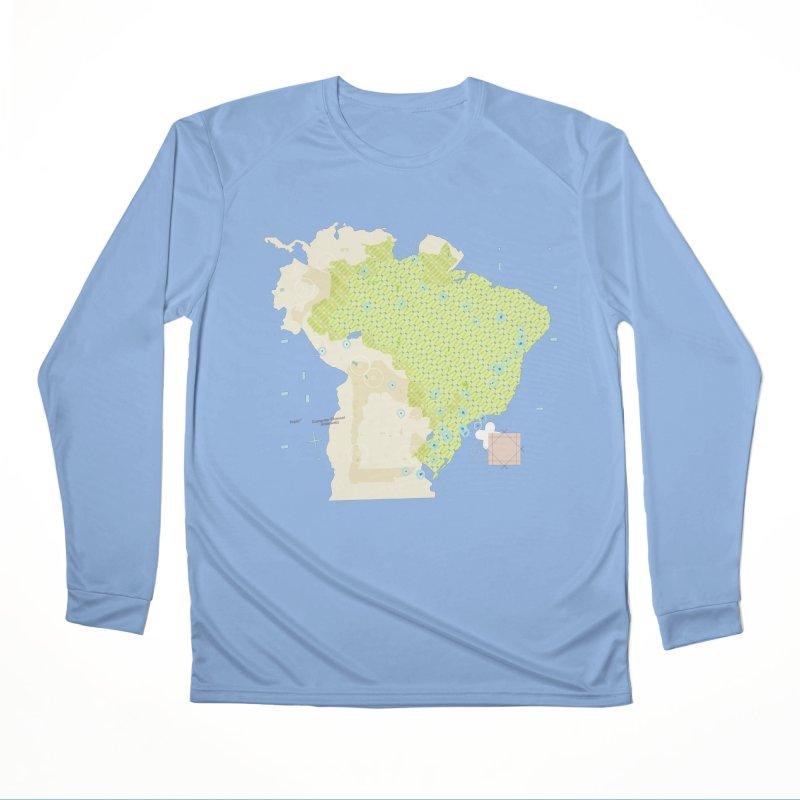 Brazil_11 Men's Longsleeve T-Shirt by Prate