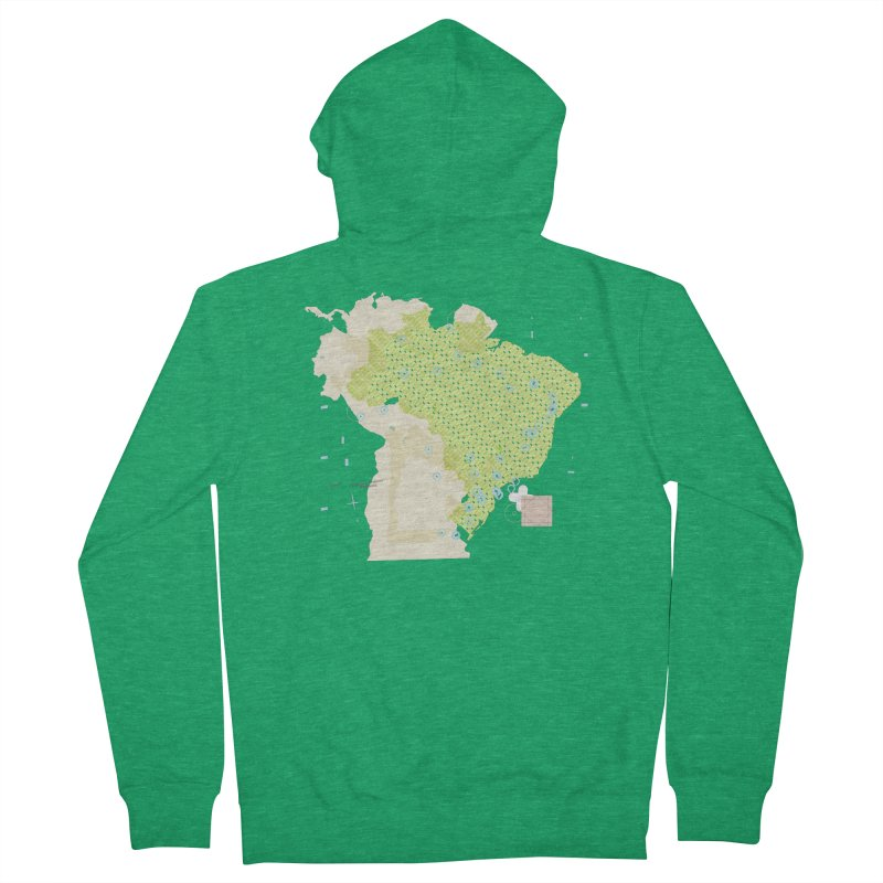 Brazil_11 Women's Zip-Up Hoody by Prate