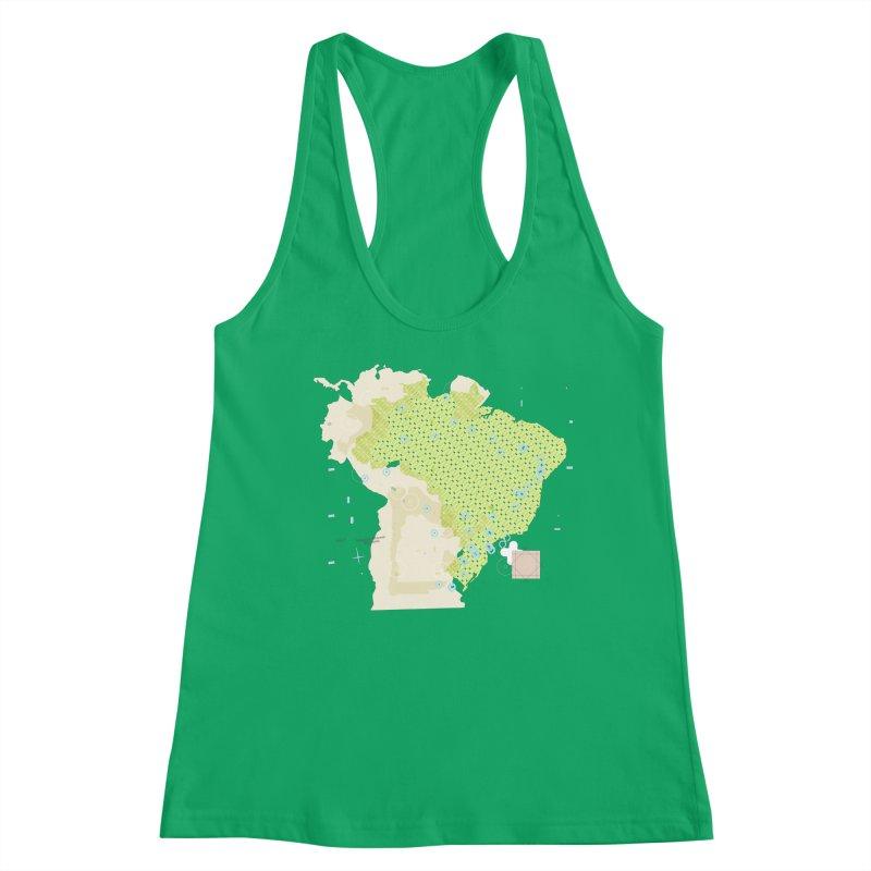 Brazil_11 Women's Tank by Prate