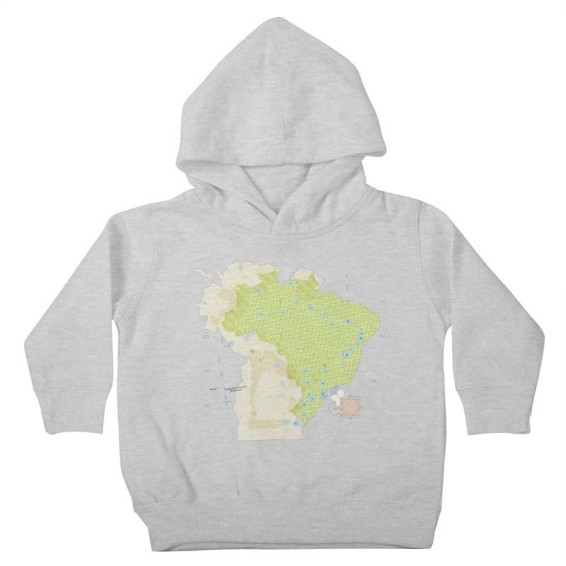 Brazil_11 Kids Toddler Pullover Hoody by Prate