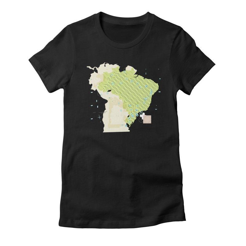 Brazil_11 Women's T-Shirt by Prate