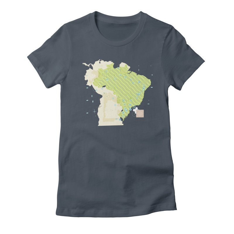 Brazil_11 Women's T-Shirt by Prate