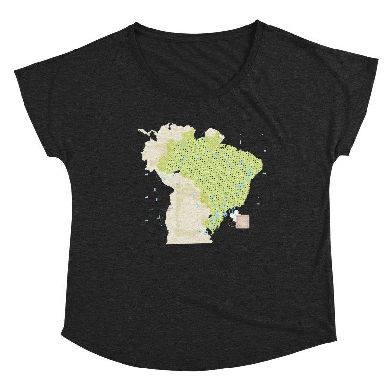 Brazil_11 Women's Scoop Neck by Prate