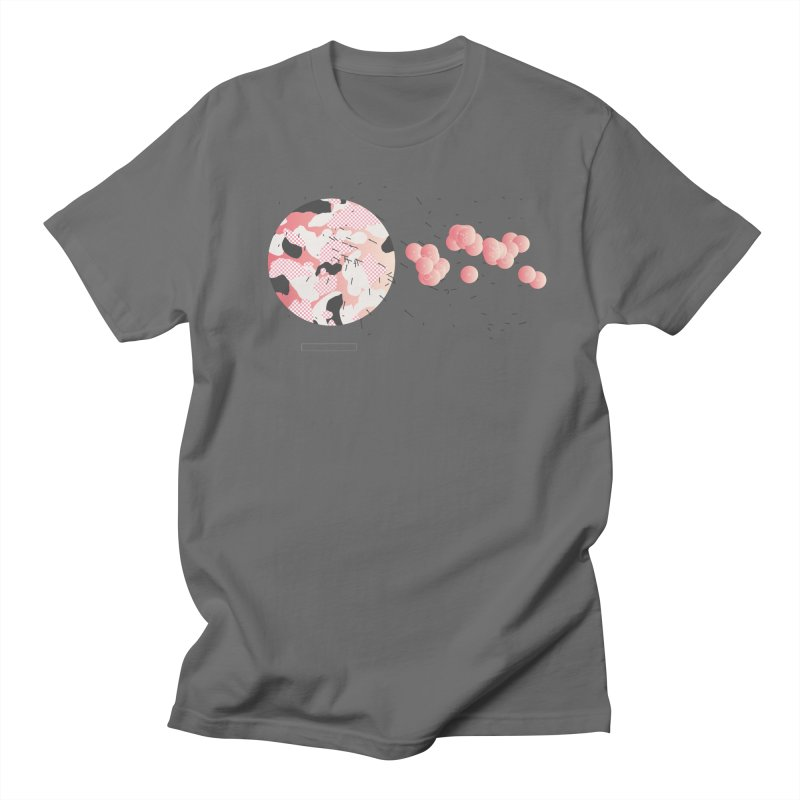 Pattern Pink Men's T-Shirt by Prate