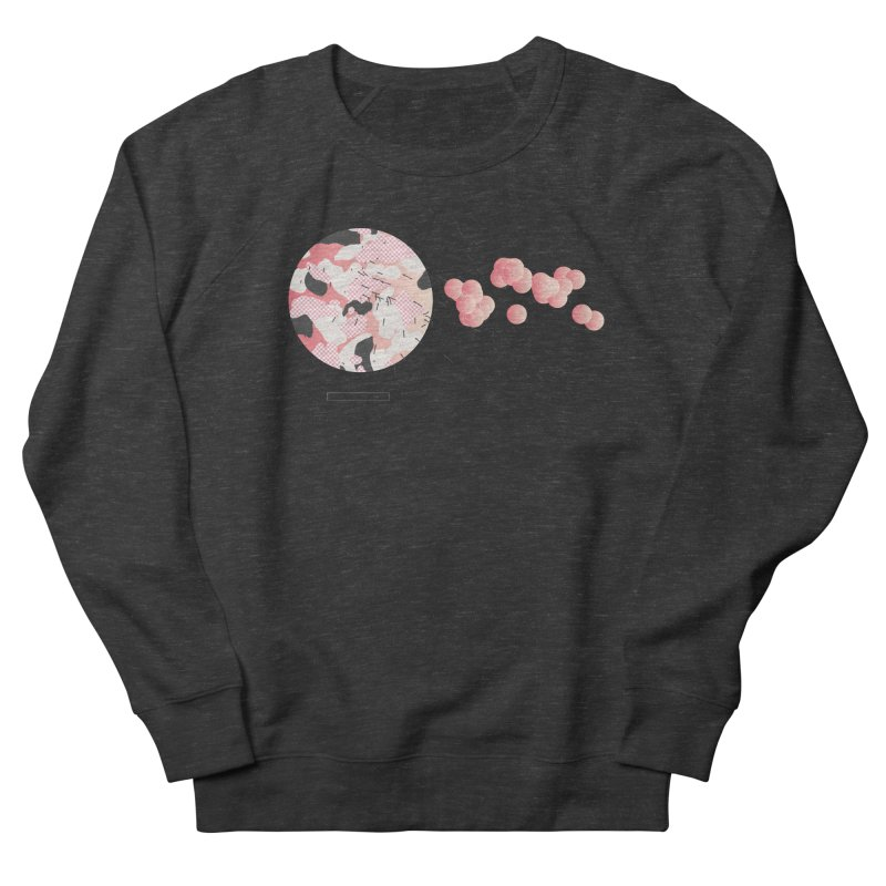 Pattern Pink Men's French Terry Sweatshirt by Prate