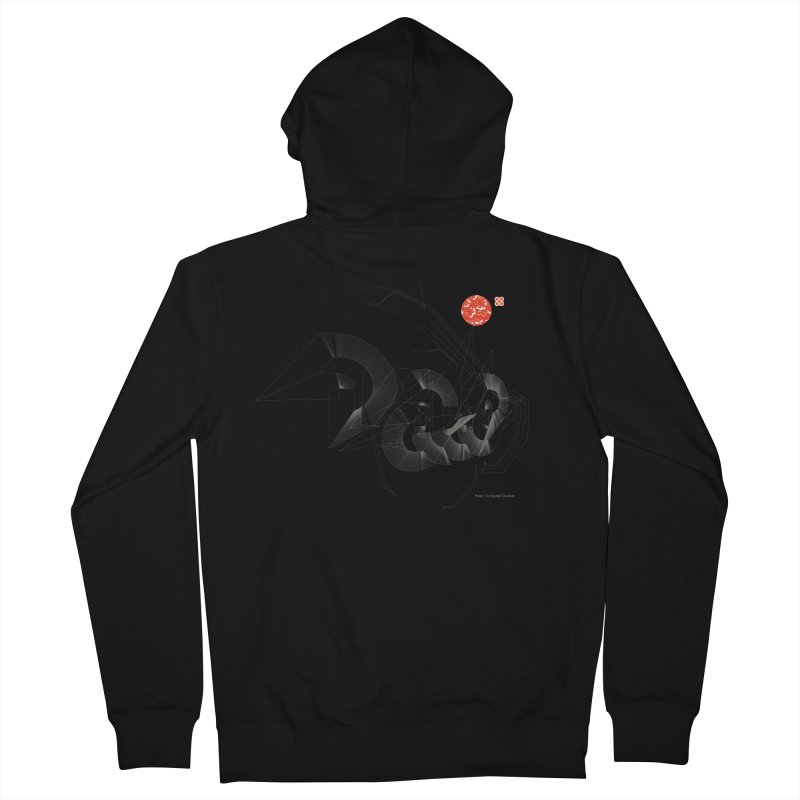 Outtakes Recovered Women's Zip-Up Hoody by Prate