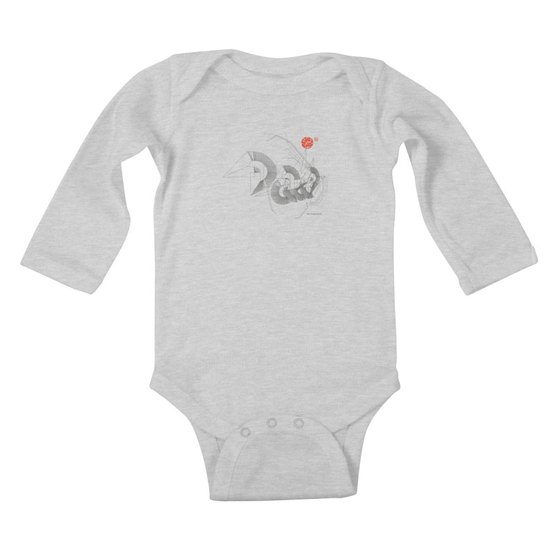 Outtakes Recovered Kids Baby Longsleeve Bodysuit by Prate