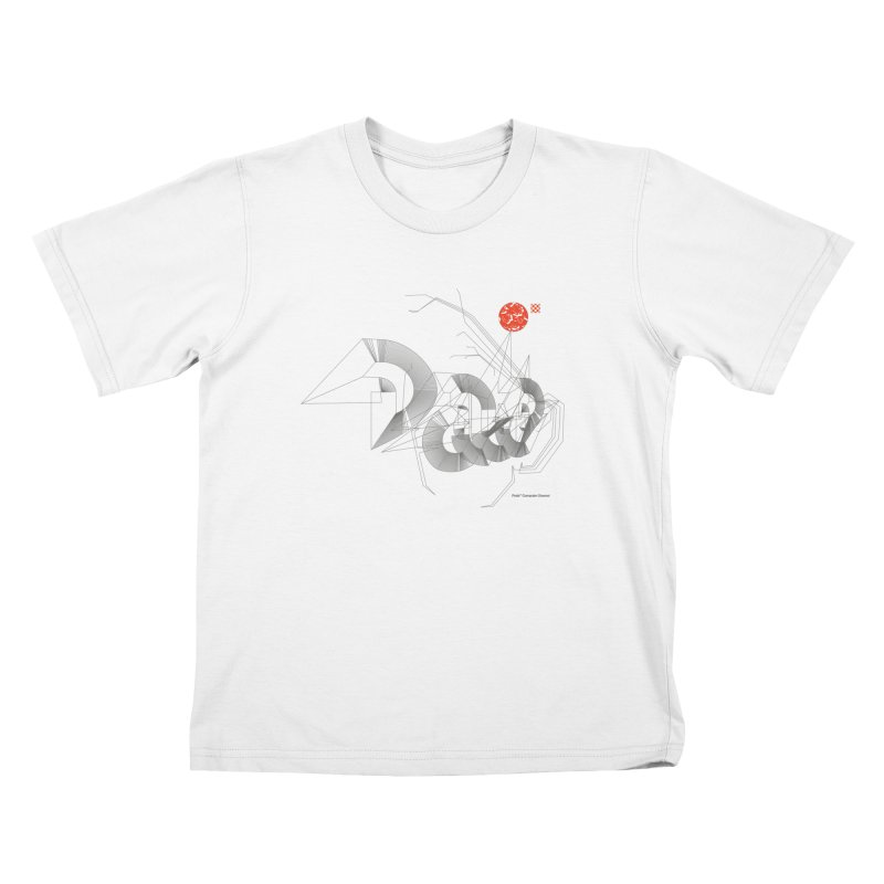 Outtakes Recovered Kids T-Shirt by Prate