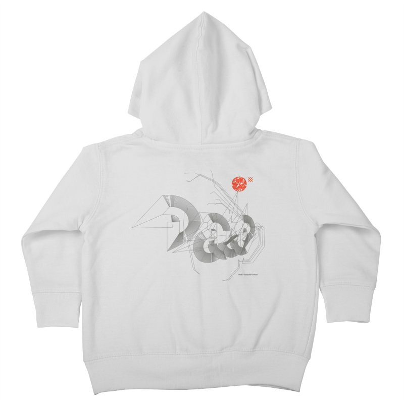Outtakes Recovered Kids Toddler Zip-Up Hoody by Prate