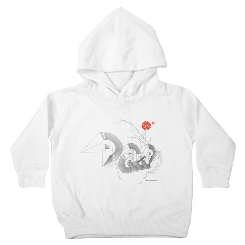 Outtakes Recovered Kids Toddler Pullover Hoody by Prate