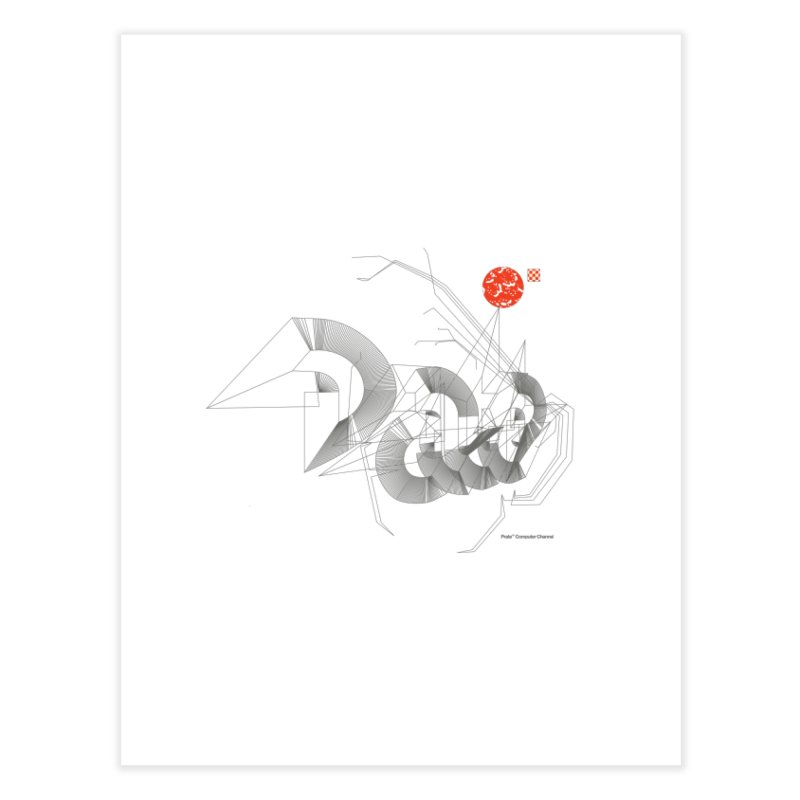 Outtakes Recovered Home Fine Art Print by Prate