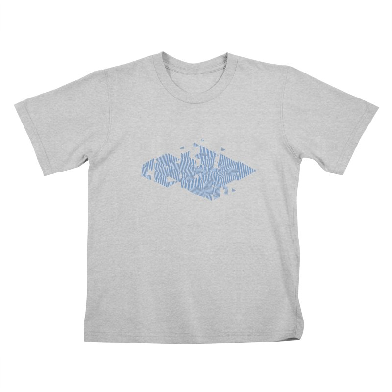 2013 Triangles Kids T-Shirt by Prate