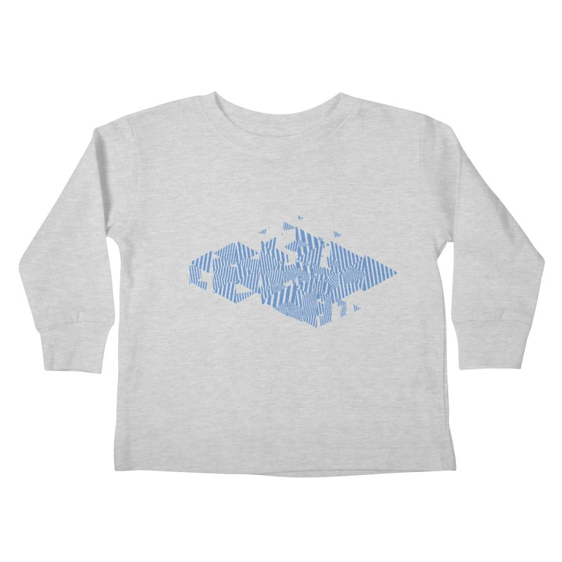 2013 Triangles Kids Toddler Longsleeve T-Shirt by Prate