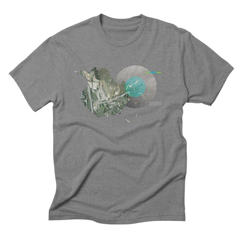 SurfaceGradient Men's T-Shirt by Prate