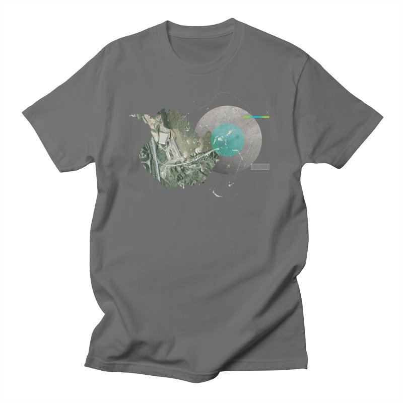 SurfaceGradient Men's Regular T-Shirt by Prate