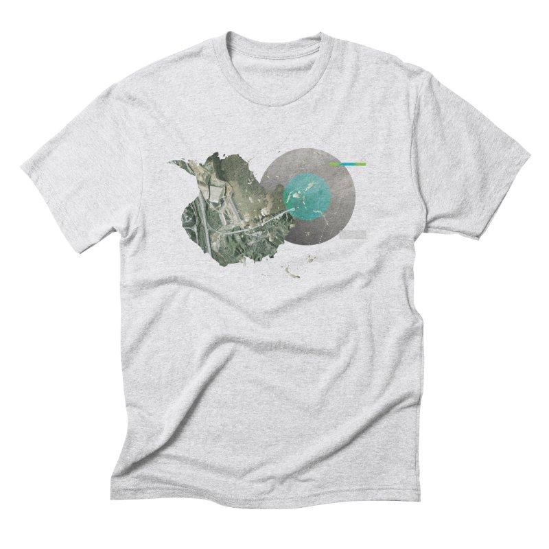SurfaceGradient Men's Triblend T-Shirt by Prate