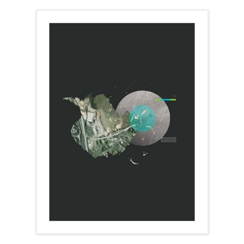 SurfaceGradient Home Fine Art Print by Prate