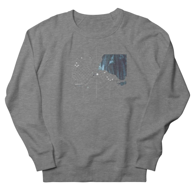 YouAreHere Men's French Terry Sweatshirt by Prate