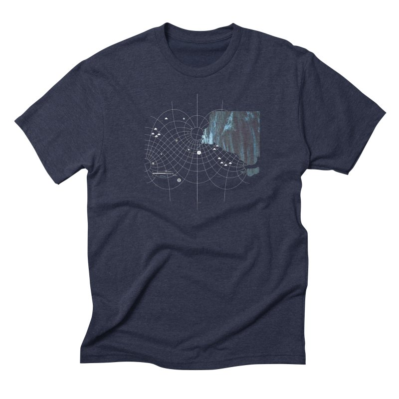 YouAreHere Men's Triblend T-Shirt by Prate